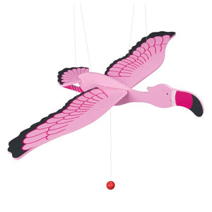 Goki Giant Swinging Animal - Flamingo