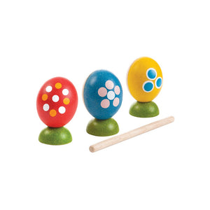 PlanToys Egg Percussion Set
