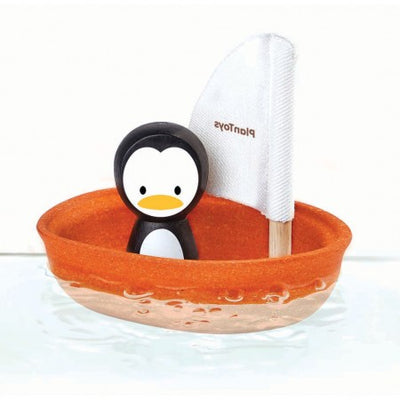 PlanToys Sailing Boat - Penguin