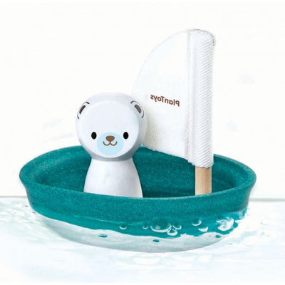 PlanToys Sailing Boat - Polar Bear