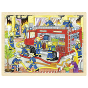 Goki Firefighters Puzzle