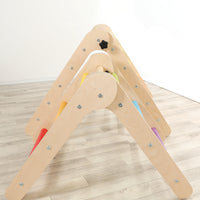 Little'UN Pikler-inspired climbing frame