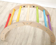 The Folding Hump Pikler-inspired climbing frame
