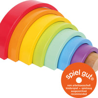 Wooden Rainbow Stacker - Large