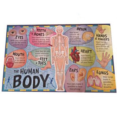 The Human Body Giant Floor Puzzle