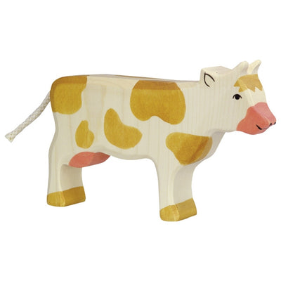 Holztiger Cow, standing, brown