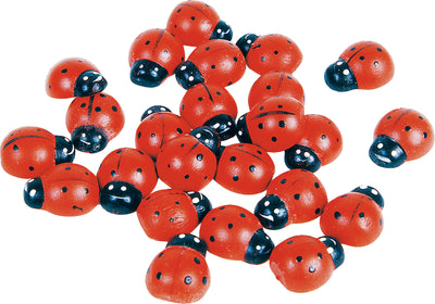 Wooden Ladybirds (10 in set)