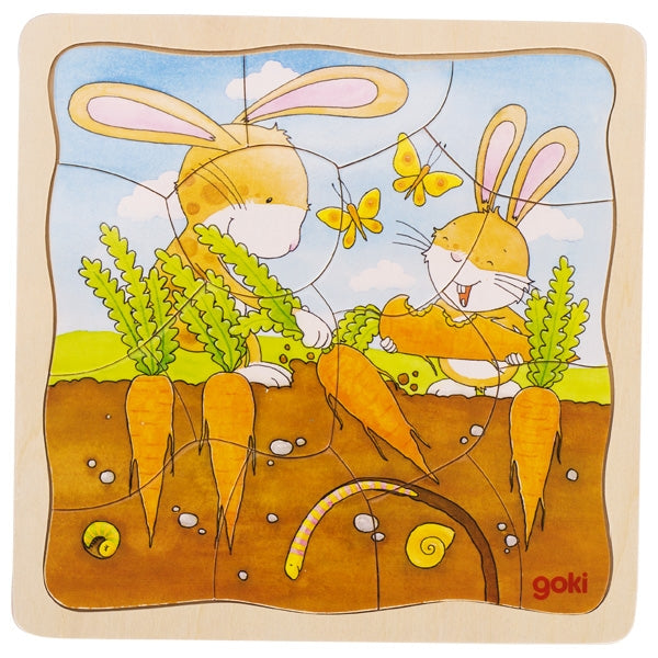 Goki Puzzle Vegetable Patch