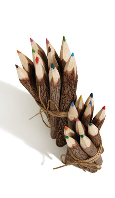 10 Large Fairtrade Coloured Pencils