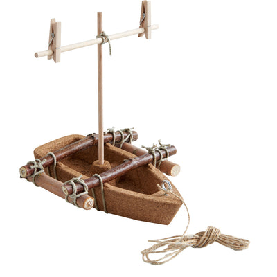 Terra Kids Cork Boat Assembly Kit