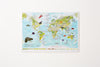 Scratch Off Kids Animals of the World Print