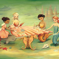 Mermaid Tea Party - 60 Piece Puzzle