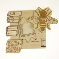 Insect's Life Puzzle - Honey Bee