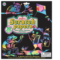 eeBoo Scratch Papers - Patterns