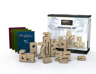 SumBlox Building Blocks Education Set