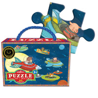 eeBoo Up and Away - 20 piece puzzle
