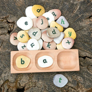 Word Building Tray - 3 pebbles