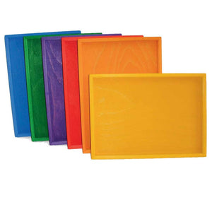 Bauspiel Rainbow Sorting Trays