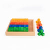 Bauspiel Corner Blocks - 50 piece set