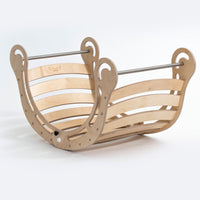 KateHaa XXL Foldable Waldorf Rocker - Natural