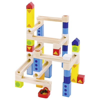 Goki Marble Run Construction Set