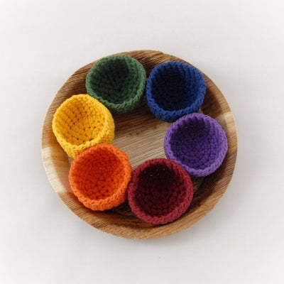 Rainbow Sorting Cups