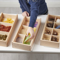 Wooden Discovery Boxes - set of 3