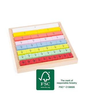 Fractions Set - Small Foot Educate Range