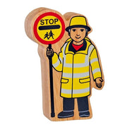 Lanka Kade Natural Yellow and Black Lollipop Person