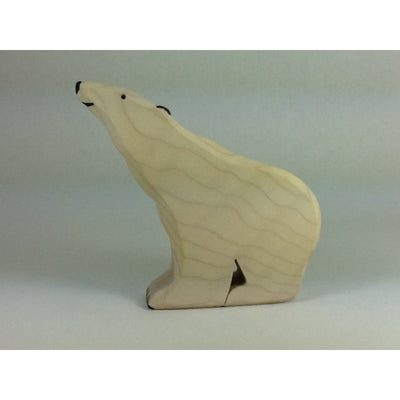 Brin d'Bois Polar Bear Sitting