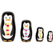 Penguin Family Matryoshka