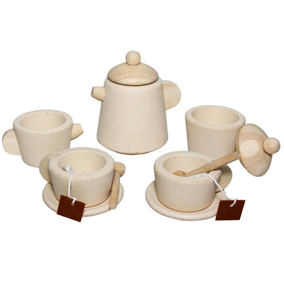 PlanToys Natural Tea Set