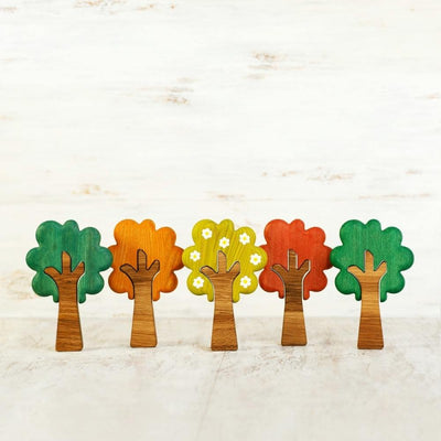 Seasonal Tree Set