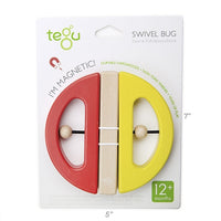 Tegu Swivel Bug - Yellow/Poppy