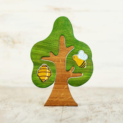 Tree with Bee and Beehive
