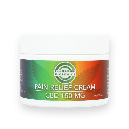 CBD Pain Relief Cream 150mg