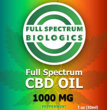 Load image into Gallery viewer, CBD Oil 1000mg