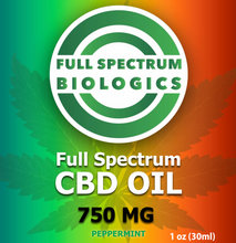 Load image into Gallery viewer, CBD Oil 750mg