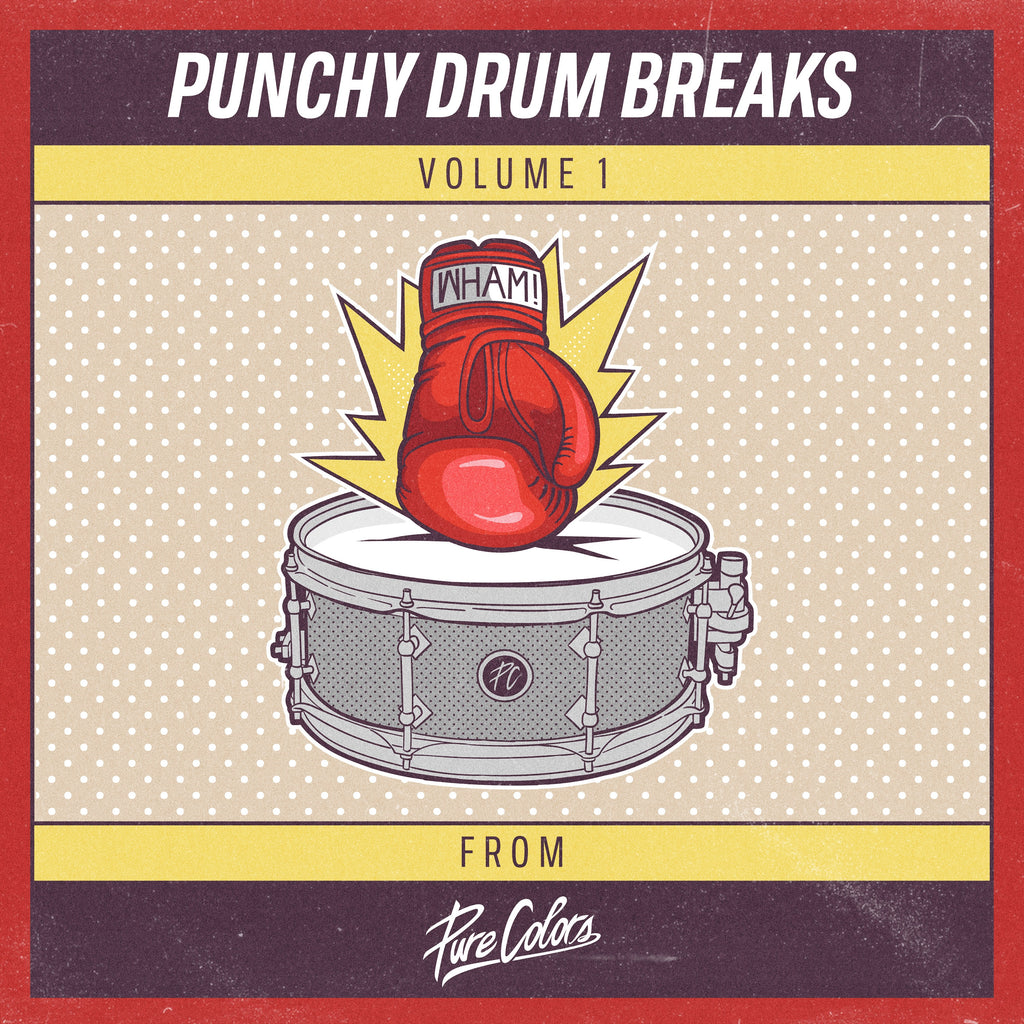 Punchy Drum Breaks! Vol. 1
