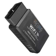 Load image into Gallery viewer, ELM327 Black 12V Car OBD 2 CAN BUS Diagnostic Scanner Tool with Wifi connection