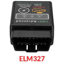 Load image into Gallery viewer, ELM327 12V Car OBD 2 CAN BUS Diagnostic Scanner Tool with Bluetooth Function