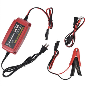 Power Charger 12v 5A trickle battery charger (Red)