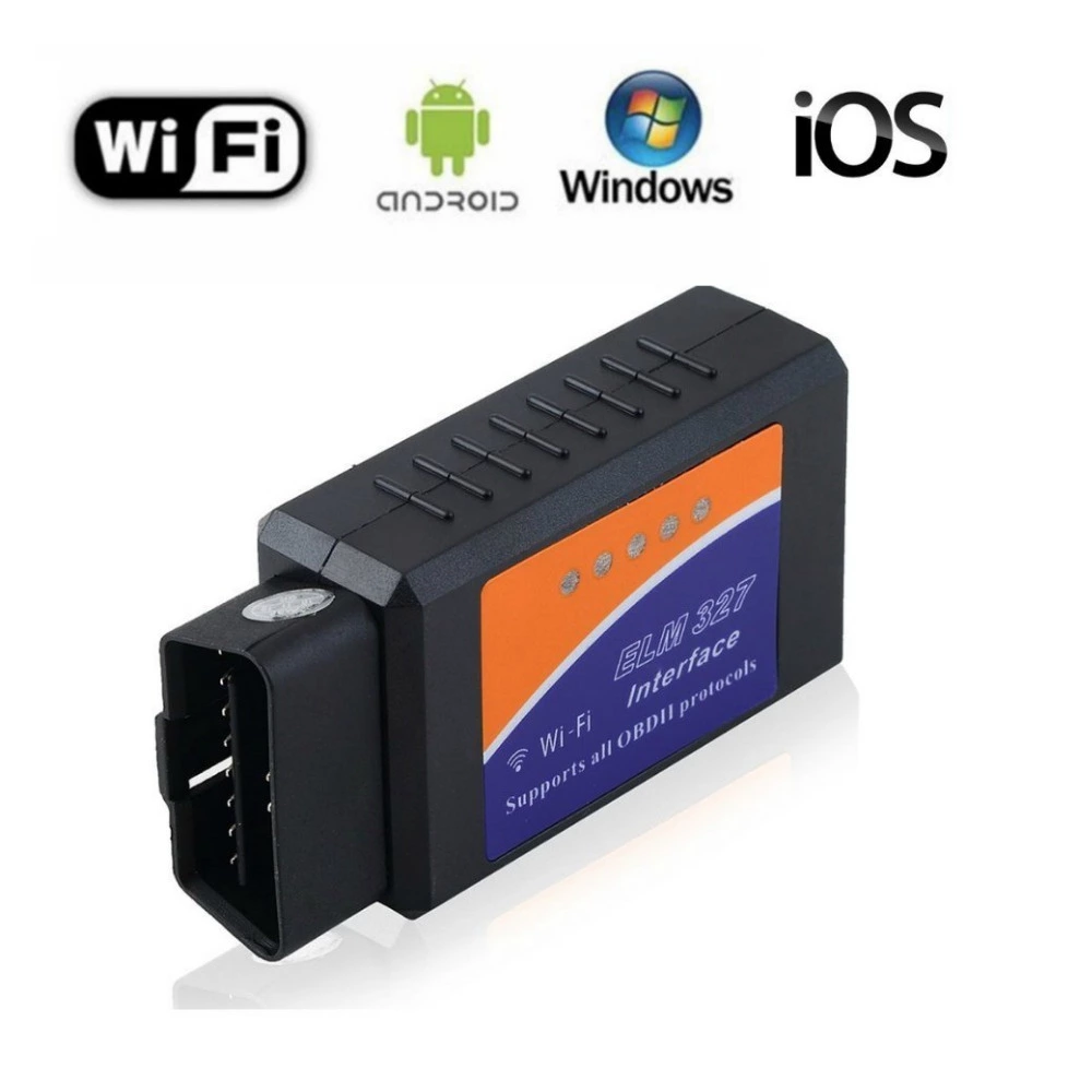 ELM327 12V Car OBD 2 CAN BUS Diagnostic Scanner Tool with Wifi connection