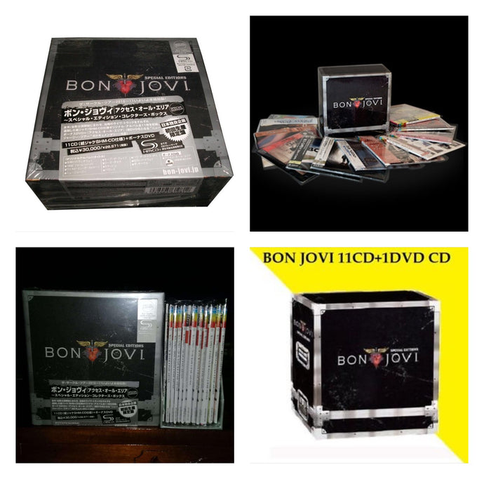Bon Jovi Special Edition Collector's Box Set