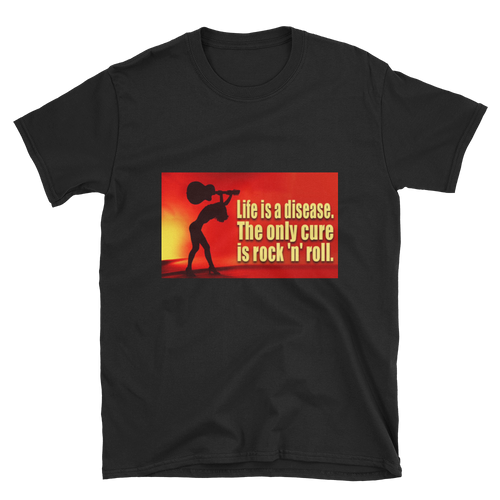 Rock 'N' Roll Is The Cure Unisex T-Shirt