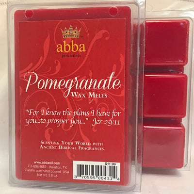 Pomegranate Wax Melts - Blessing and Favor - Kingdom Enlightenment Ministries