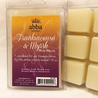 Frankincense & Myrrh Wax Melts - Healing and Intercession - Kingdom Enlightenment Ministries