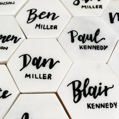 Marble Place Cards