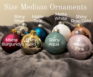 Medium Wedding Ornaments