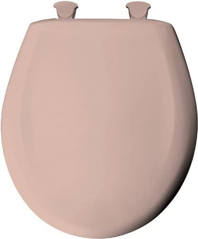 Bemis Church/Round Slow-close Plastic Seat, One Size, Venetian Pink